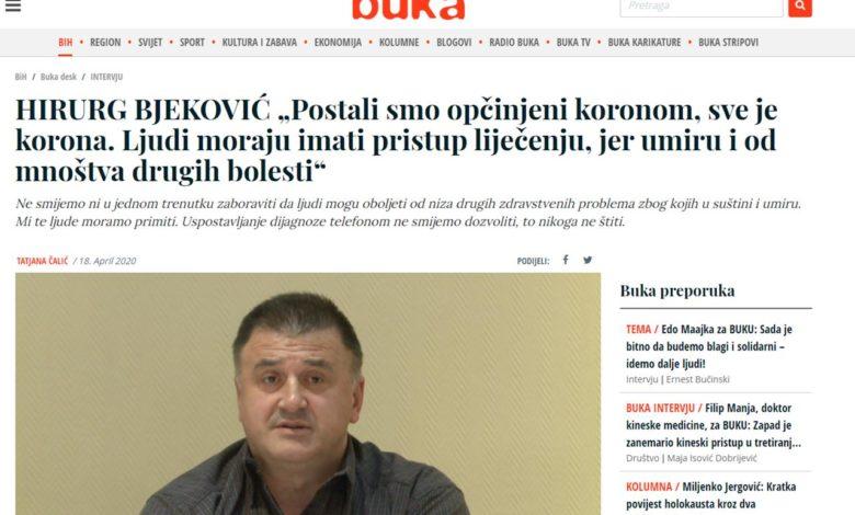 """Photo of JZU Bolnica Zvornik: Bjeković objeručke prihvatio hiljadu KM koje je nazvao """"sadakom"""""""
