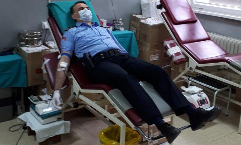 Photo of Pripadnici PU Zvornik dobrovoljno darivali krv