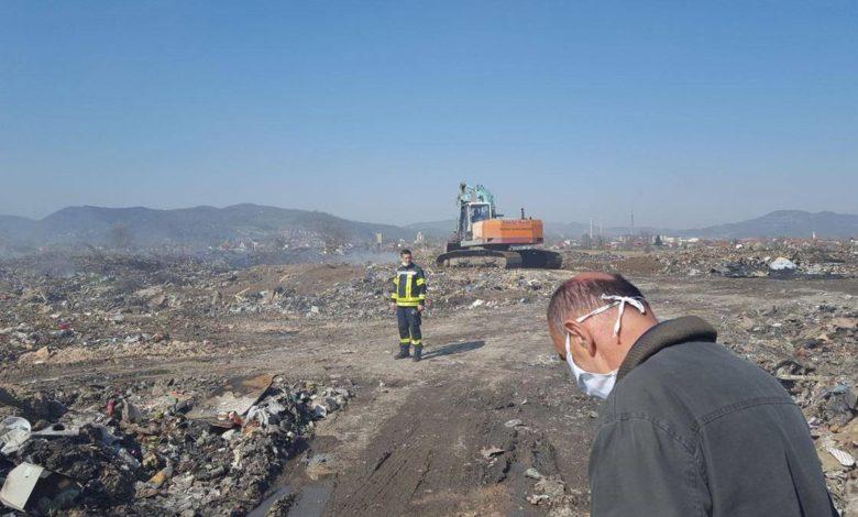 Photo of Ugašen požar na staroj deponiji