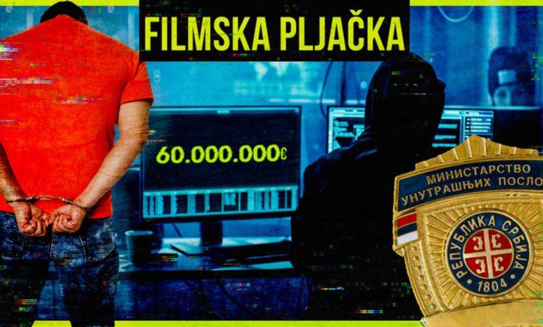 Photo of Filmska pljačka 60 miliona evra u Beogradu: Dvije žene i trojica muškaraca razradili prevaru decenije