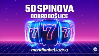Photo of BEZ USLOVA: Registruj se i uzmi 50 besplatnih spinova