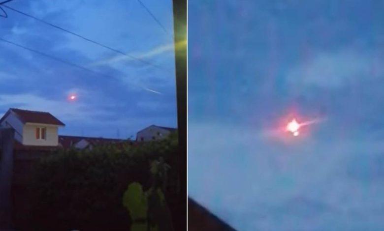 Photo of Šta su užarene lopte iznad Beograda? (video)