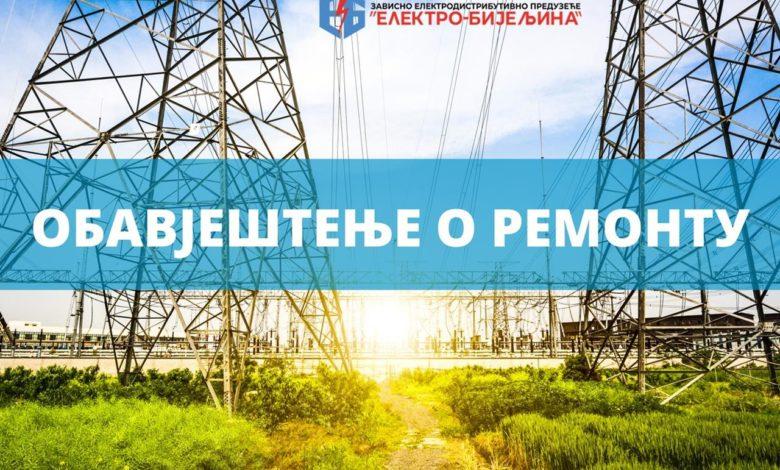 Photo of Prekid isporuke električne energije za 22.05. 2020.