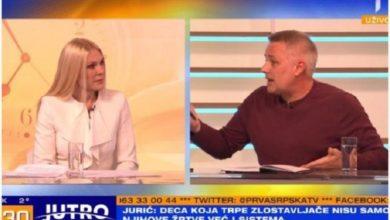"""Photo of TV DUEL Igor Jurić: """"Što niste pronašli živo dete?"""", Biljana Popović Ivković: """"A gde ste vi bili tada?"""""""