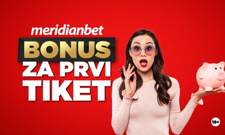 Photo of MERIDIAN ČASTI: Za prvi odigran tiket do 40 KM bonusa