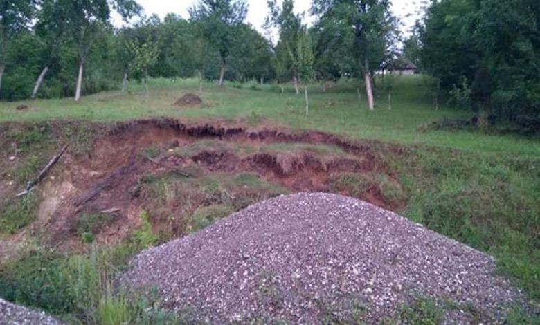 Photo of Pogledajte fotografije klizišta u Živkovini kod Tršića (foto)