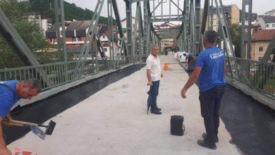 Photo of Radovi na mostu pri kraju, otvaranje za saobraćaj sredinom jula (foto)