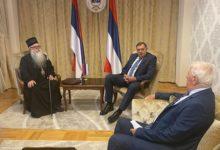 Photo of Sastanak Dodika i mitropolita Hrizostoma: Kako ubrzati povratak imovine SPC u Sarajevu?