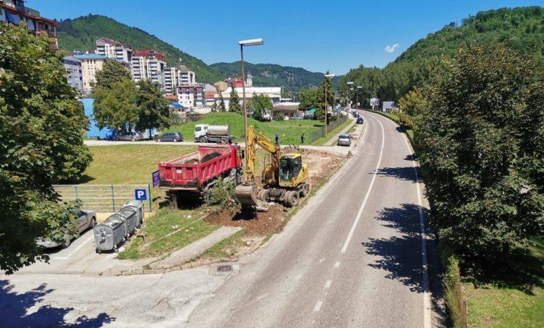 Photo of Počela izgradnja novih parking mjesta u gradu