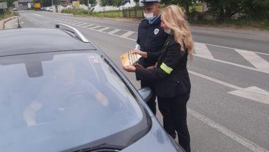 """Photo of Policijski službenici u realizaciji kampanje """"Vozite oprezno – putujte bezbjedno"""""""