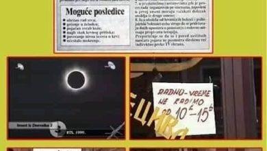 Photo of Svjedoci vremena: pomračenje Sunca i/ili pomračenje uma