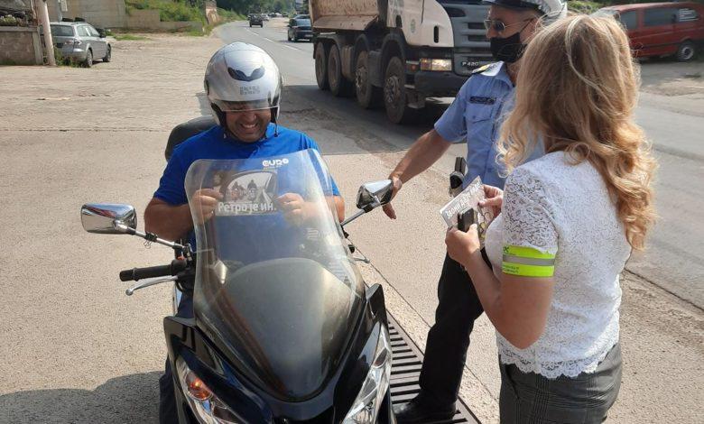 Photo of Preventivnim aktivnostima policijskih službenika do veće bezbjednosti vozača dvotočkaša u saobraćaju
