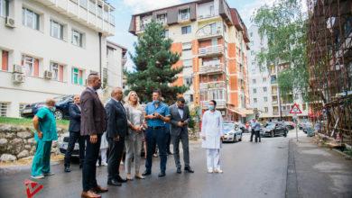 Photo of Cvijanovićeva i Stevanović obišli gradilište Opšte bolnice i Doma zdravlja (foto)