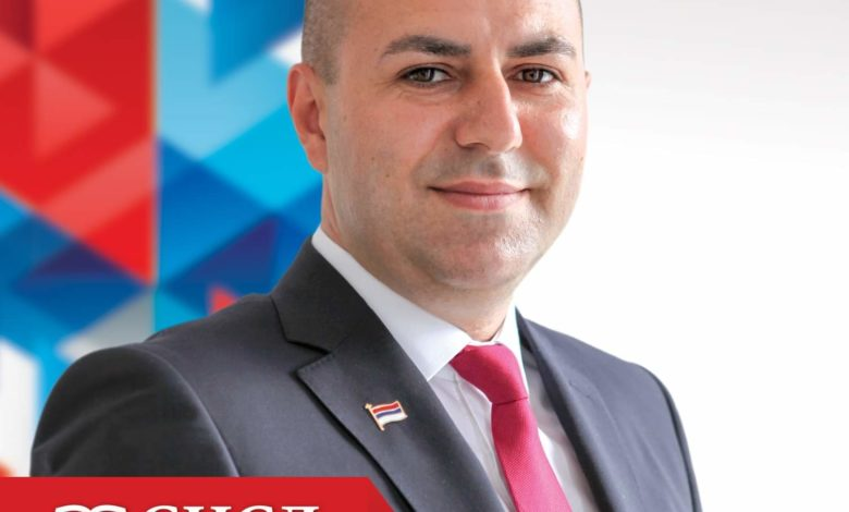 Photo of Ivan Popović – kandidat za odbornika na listi SNSD-a iz Zvornika
