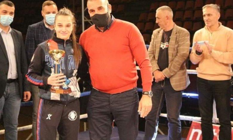 Photo of Sara Ćirković najbolja bokserka na Kupu nacija
