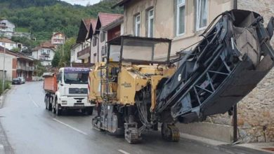 Photo of Počela rekonstrukcija ulice Sime Perića, radovi završeni u MZ Ulice