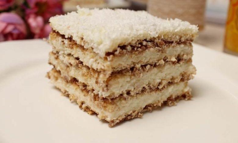Photo of Kokos kolač sa turskim keksom