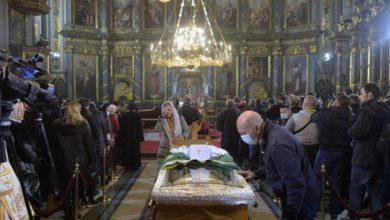 Photo of Veliki broj vjernika se oprostio od patrijarha