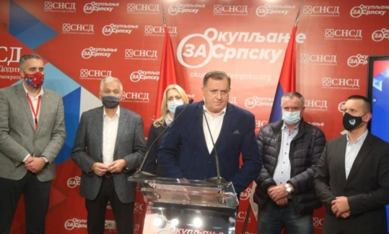 Photo of Dodik: Radojičić je dobro radio posao, nije mi prijatno što smo izgubili Banjaluku