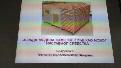 "Photo of Srebrna plaketa za TŠC na ""INOST MLADIH 2020"""