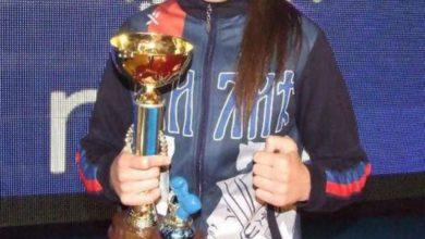 Photo of Sara Ćirković u finalu Evropskog prvenstva u boksu