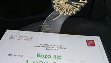 Photo of Najbolji inovativni nastavnik   u BiH, Božo Ilić iz zvorničkog TŠC-a!