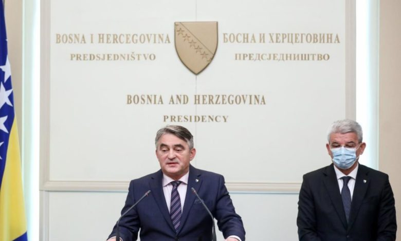 "Photo of ""Džaferović-Komšić BiH"" pala pred Ruskom federacijom"