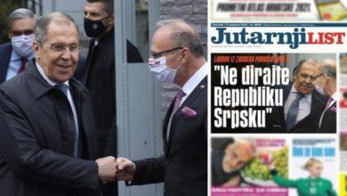 Photo of Lavrov iz Zagreba poručio NATO-u: Ne dirajte Republiku Srpsku!