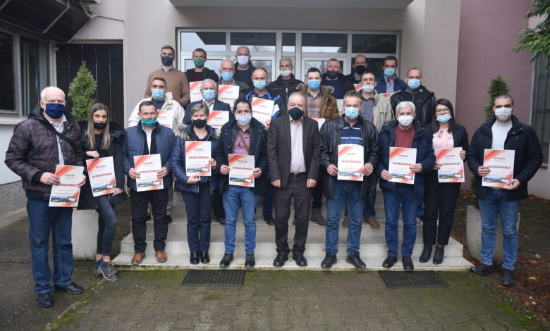 """Photo of """"ALUMINA"""" nagradila 23 radnika za istaknuti doprinos i angažovanje u 2020. godini"""