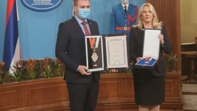 Photo of Orden zastave Republike Srpske sa srebrnim vijencem za JZU Bolnicu Zvornik