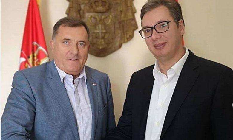 Photo of Dodik-Vučić: Razgovarano da Srpska dobije vakcine od Srbije