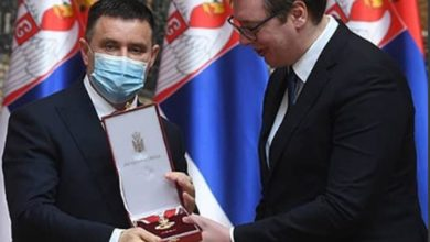 Photo of Predsjednik Srbije odlikovao direktora UKC Republike Srpske