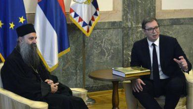 Photo of Vučić sa Porfirijem: Kad država i crkva streme istom, Srbija bude prva