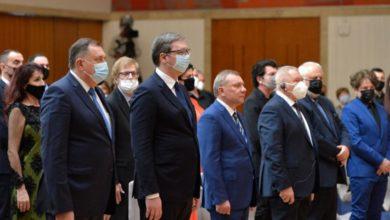 Photo of Vučić uručio odlikovanja povodom Dana državnosti