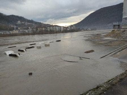 Photo of Očekuje se povećan protok na HE Mali Zvornik, ugroženo područje uz rijeku Drinu