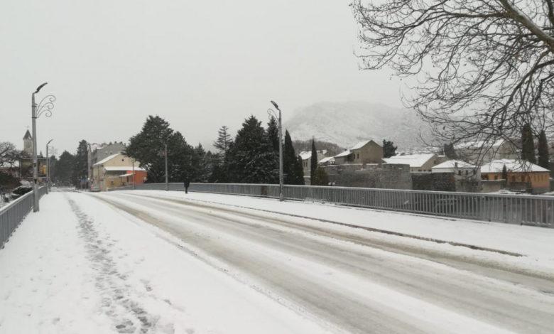 Photo of U Trebinju pao prvi snijeg