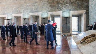 Photo of Predsjedništvo BiH na sastanku sa Erdoganom u Ankari