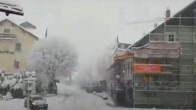 Photo of Zima okovala Hrvatsku, auto – putevi zatrpani snijegom