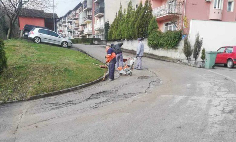 Photo of Zbog krpljenja rupa na ulicama potrebno izmjestiti vozila