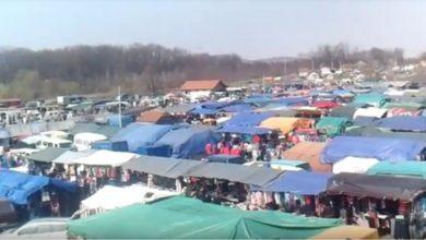 Photo of Uprkos mjerama, na pijaci u Memićima 2.000 ljudi
