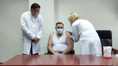 Photo of Milorad Dodik primio vakcinu protiv virusa korona