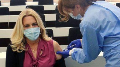 Photo of Željka Cvijanović primila vakcinu protiv virusa korona