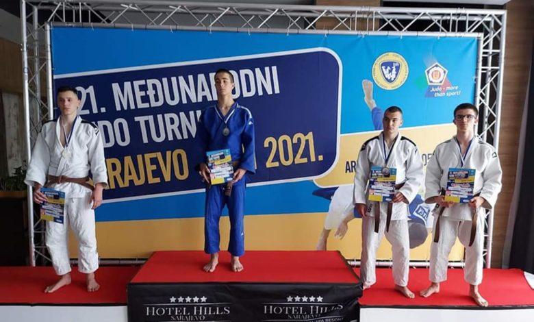 Photo of Tri bronze za Sokolove na 21. Sarajevo open međunarodnom turniru