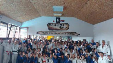 Photo of Srpski soko na međunarodnom džudo kampu u Pančevu