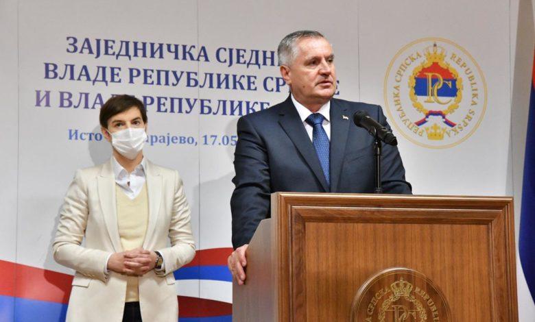 Photo of Višković: Jaka Srbija je garant uspjeha Srpske