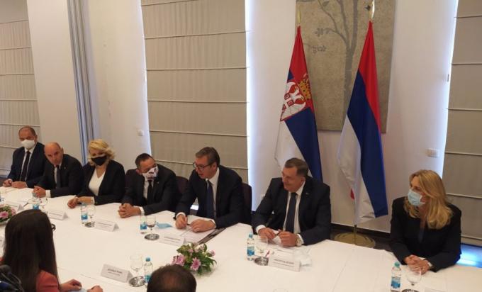 Photo of Sastanak zvaničnika Srpske i Vučića sa načelnicima opština