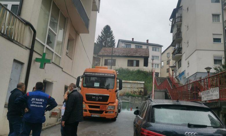 Photo of Cisterna sa kiseonikom eksplodirala u centru grada kod Bolnice