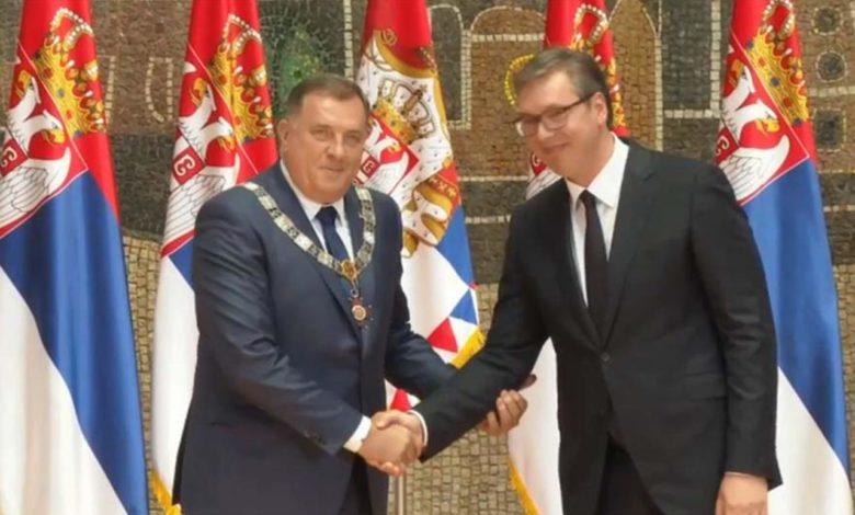 Photo of Dodiku uručen Orden Republike Srbije