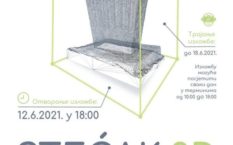 Photo of U Zvorniku 3D izložba najljepših stećaka u Bosni i Hercegovini