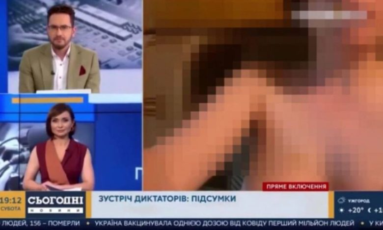 Photo of Novinar se javio u program uživo, a njegova gola djevojka okrenula kameru (video)